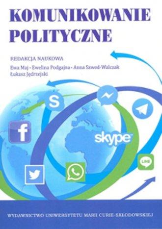 Komunikowanie polityczne - okładka książki