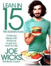 Lean in 15 The Sustain Plan. 15 Minute Meals and Workouts to Get You Lean for Life - okładka książki