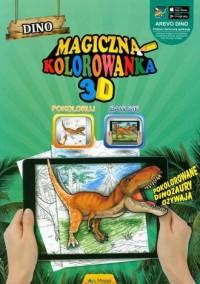 Magiczna kolorowanka 3D Dino - - zdjęcie zabawki, gry