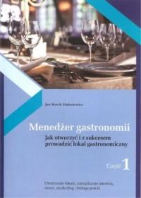 Menedżer gastronomii cz. 1 - okładka książki