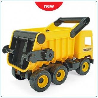 Middle Truck. Wywrotka żółta w - zdjęcie zabawki, gry