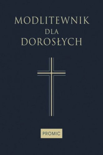 Modlitewnik dla dorosłych - okładka książki