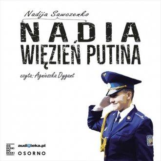 Nadia więzień Putina - pudełko audiobooku