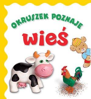Okruszek poznaje wieś - okładka książki