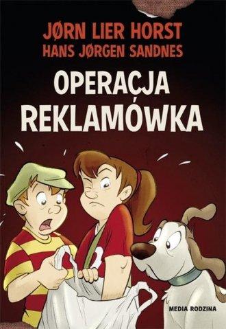 Operacja reklamówka - okładka książki