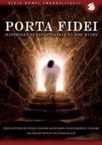 Porta Fidei. Materiały duszpasterskie na Rok Wiary - okładka książki