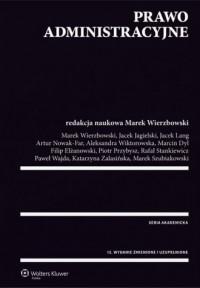Prawo administracyjne - Marek Wierzbowski - okładka książki