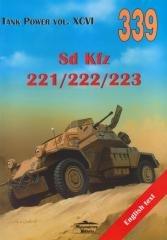 Sd. kfz 221/222/223 .Tank Power - okładka książki