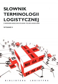 Słownik terminologii logistycznej - okładka książki