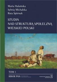 Studia nad strukturą społeczną - okładka książki