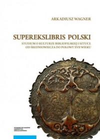 Superekslibris polski. Studium - okładka książki