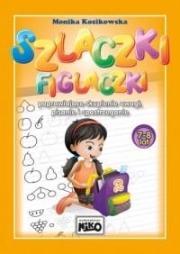 Szlaczki figlaczki poprawiające - okładka podręcznika