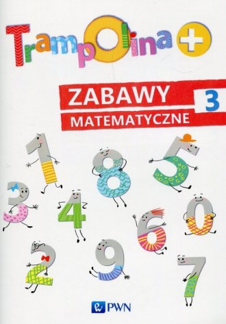 Trampolina. Zabawy matematyczne - okładka podręcznika