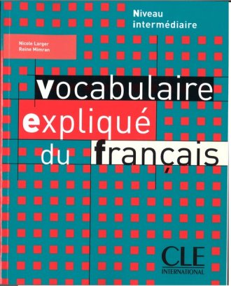Vocabulaire explique du francais - okładka podręcznika