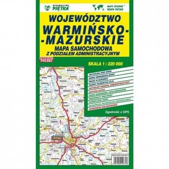 Województwo warmińsko-mazurskie - okładka książki
