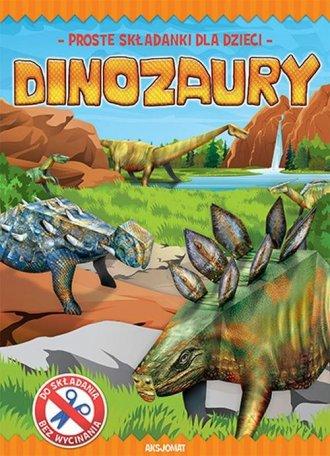 Proste składanki dla dzieci. Dinozaury - okładka książki