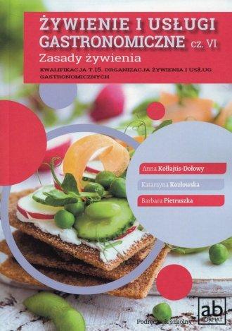 Żywienie i usługi gastronomiczne - okładka podręcznika