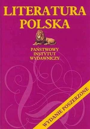 ok�adka ksi��ki - Literatura polska - Jan Tomkowski