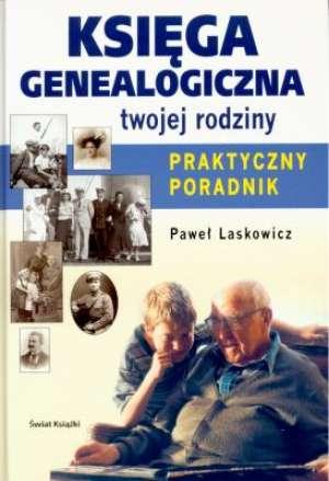 Księga genealogiczna twojej rodziny. - okładka książki