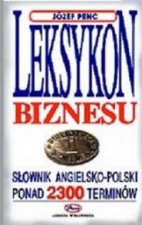 Leksykon biznesu - okładka książki