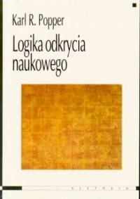 Logika odkrycia naukowego - okładka książki