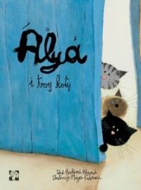 Alya i trzy koty - okładka książki