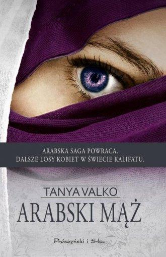 Arabski mąż - okładka książki