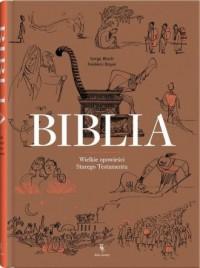 Biblia - Serge Bloch - okładka książki
