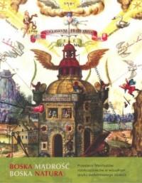 Boska madrość boska natura/Hermetica - okładka książki