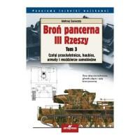 Broń pancerna III Rzeszy. Tom 3. - okładka książki