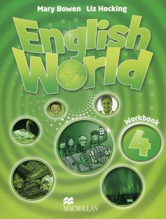 English World 4. Zeszyt ćwiczeń - okładka podręcznika