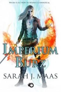 Imperium burz - Sarah J. Maas - okładka książki