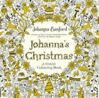 Johannas Christmas A Festive Colouring Book - okładka książki