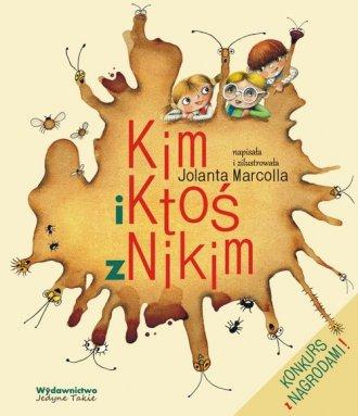Kim i Ktoś z Nikim - okładka książki