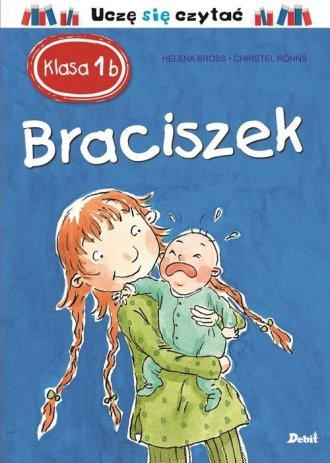 Klasa 1b. Braciszek - okładka książki
