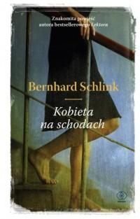 Kobieta na schodach - okładka książki