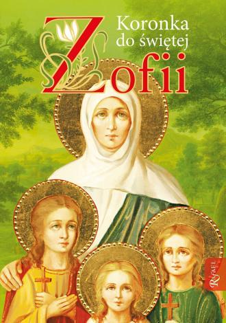 Koronka do św. Zofii - okładka książki