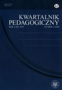Kwartalnik Pedagogiczny 1(243) 2017 - okładka książki
