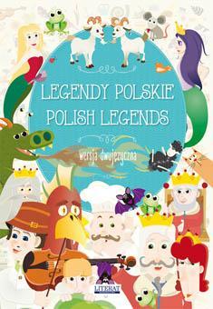 Legendy polskie. Polish legends. - okładka książki