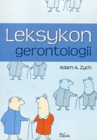 Leksykon gerontologii - okładka książki