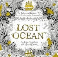 Lost Ocean An Inky Adventure & Colouring Book - okładka książki