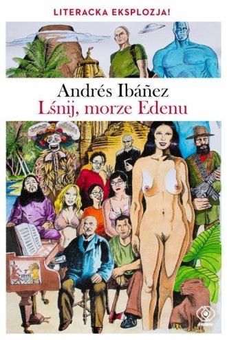 Lśnij, morze Edenu - okładka książki