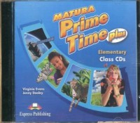 Matura Prime Time Plus Elementary CIass CDs - pudełko audiobooku