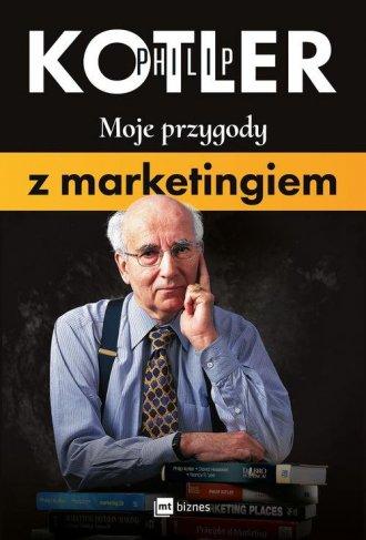Moje przygody z marketingiem - okładka książki
