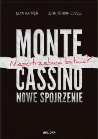 Monte Cassino nowe spojrzenie - - okładka książki