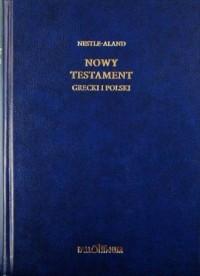 Nowy Testament grecki i polski - okładka książki