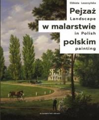 Pejzaż w malarstwie polskim - Elżbieta - okładka książki