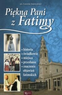 Piękna Pani z Fatimy - okładka książki