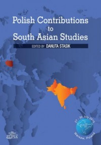 Polish Contributions to South Asian - okładka książki