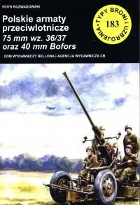 Polskie armaty przeciwlotnicze - okładka książki